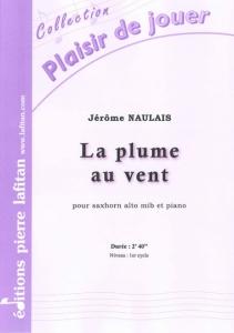 PARTITION LA PLUME AU VENT (SAXHORN ALTO)