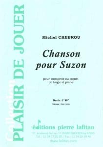 PARTITION CHANSON POUR SUZON (TROMPETTE)