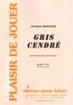 PARTITION GRIS CENDRÉ (SAXHORN ALTO)