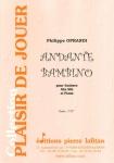 PARTITION ANDANTE BAMBINO (SAXHORN ALTO)