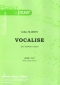 PARTITION VOCALISE (HAUTBOIS)