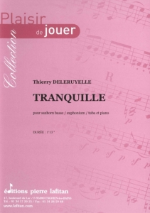 PARTITION TRANQUILLE (SAXHORN BASSE)