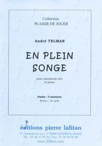 PARTITION EN PLEIN SONGE (SAX ALTO)