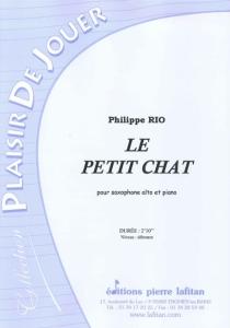 PARTITION LE PETIT CHAT (SAX ALTO)