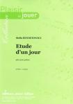 PARTITION ETUDE D'UN JOUR