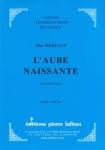 PARTITION L'AUBE NAISSANTE