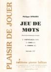 PARTITION JEU DE MOTS (COR)