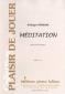 PARTITION MÉDITATION (COR Mib)