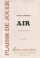 PARTITION AIR (CLAIRON)