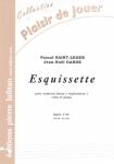 PARTITION ESQUISSETTE (SAXHORN BASSE)