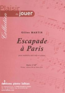 PARTITION ESCAPADE A PARIS