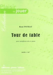 PARTITION TOUR DE TABLE (SAX ALTO)