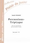PARTITION PERCUSSIONS-TRIPTYQUE