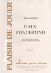PARTITION E.M.S. CONCERTINO (CLAIRONS 3V)