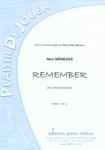 PARTITION REMEMBER (VIOLONCELLE)