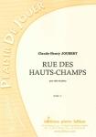 PARTITION RUE DES HAUTS-CHAMPS