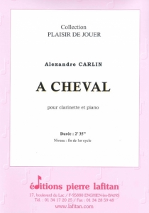 PARTITION A CHEVAL (CLARINETTE)