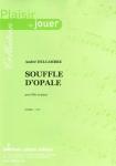 PARTITION SOUFFLE D'OPALE