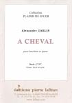 PARTITION A CHEVAL (HAUTBOIS)