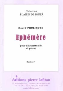 PARTITION EPHEMERE