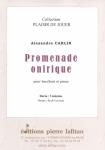 PARTITION PROMENADE ONIRIQUE (HAUTBOIS)