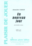 PARTITION UN NOUVEAU JOUR (HAUTBOIS)