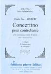 PARTITION CONCERTINO POUR CONTREBASSE