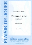 PARTITION COMME UNE VALSE (FLÛTE)