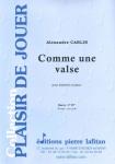 PARTITION COMME UNE VALSE (HAUTBOIS)