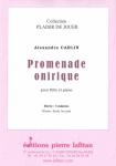 PARTITION PROMENADE ONIRIQUE (FLÛTE)