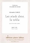 PARTITION LES PIEDS DANS LE SABLE (COR)