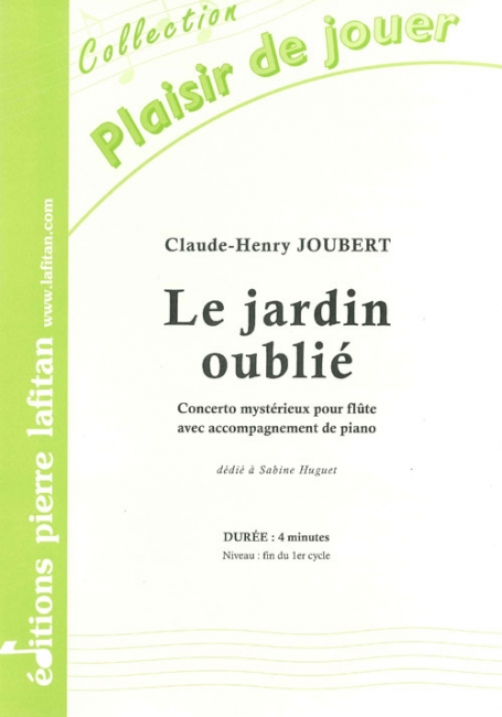 Le Jardin Oubli U00e9   Partition De Claude