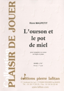 PARTITION L'OURSON ET LE POT DE MIEL (TROMPETTE)
