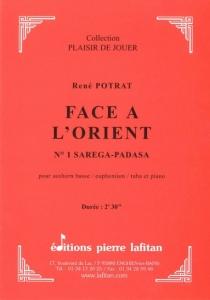PARTITION FACE À L´ORIENT N°1 (SAXHORN BASSE)