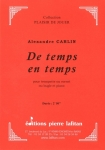PARTITION DE TEMPS EN TEMPS (TROMPETTE)