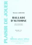 PARTITION BALLADE D'AUTOMNE