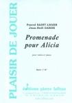PARTITION PROMENADE POUR ALICIA (VIOLON)
