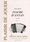 PARTITION FIACRE D'ANTAN