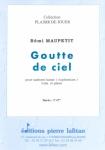 PARTITION GOUTTE DE CIEL
