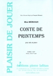PARTITION CONTE DE PRINTEMPS (ALTO)