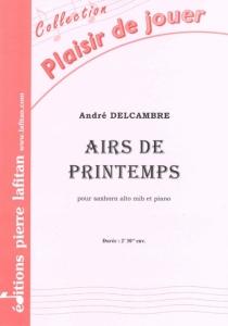 PARTITION AIRS DE PRINTEMPS (SAXHORN ALTO)