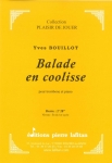 PARTITION BALADE EN COOLISSE