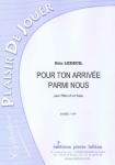 PARTITION POUR TON ARRIVÉE PARMI NOUS