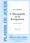 PARTITION L'HIRONDELLE ET LE KANGOUROU (FLÛTE)