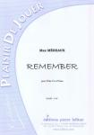 PARTITION REMEMBER (FLÛTE)