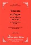 PARTITION TOCCATA ET FUGUE EN RÉ MINEUR BWV 565 (CLARINETTE SOLO)