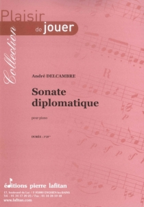 PARTITION SONATE DIPLOMATIQUE