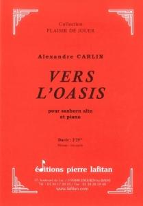 PARTITION VERS L'OASIS (SAXHORN ALTO)