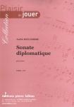 PARTITION SONATE DIPLOMATIQUE