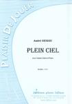 PARTITION PLEIN CIEL (CAISSE CLAIRE)